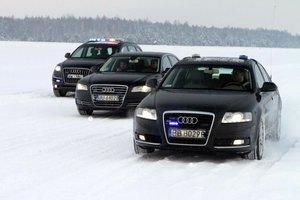 Szkolenie kierowców BOR (źródło: BOR)