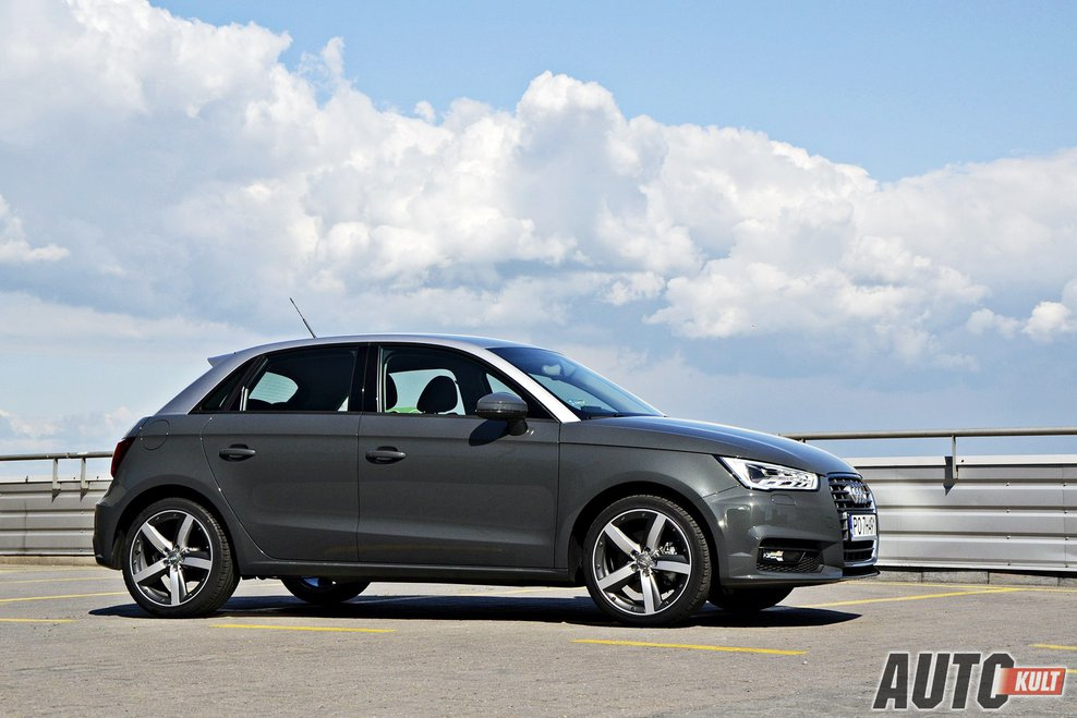 audi a1 sportback 2015 1 4 tfsi s tronic test opinia spalanie cena. Black Bedroom Furniture Sets. Home Design Ideas