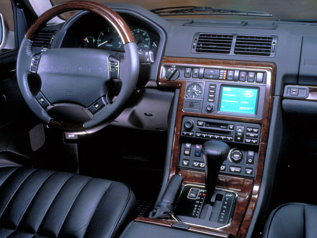 U ywany range rover p38 1995 2002 for Land rover 2000 interior
