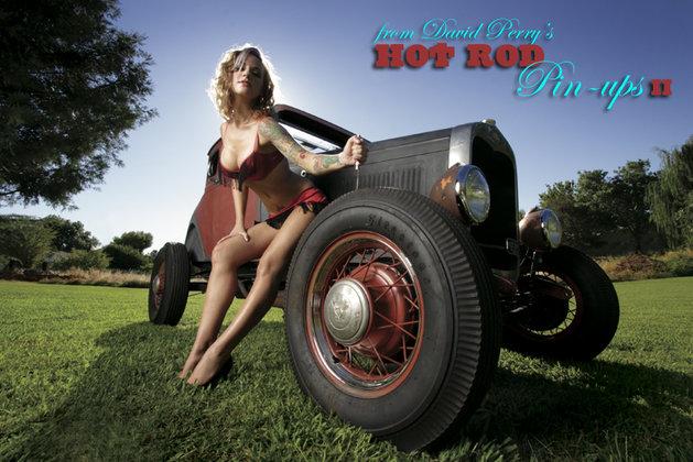 Hot Rod Pin-Ups II : Gearhead Girls and Dragstrip Dolls (2008, Hardcover)