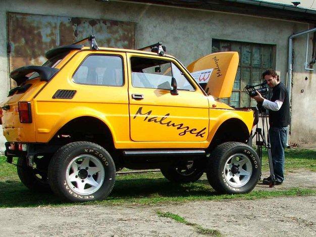 Fiat 126p Prototypy I Unikatowe Wersje Fiat 126p Na