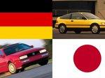 Honda CRX II vs Volkswagen Corrado [awarieiproblemy]