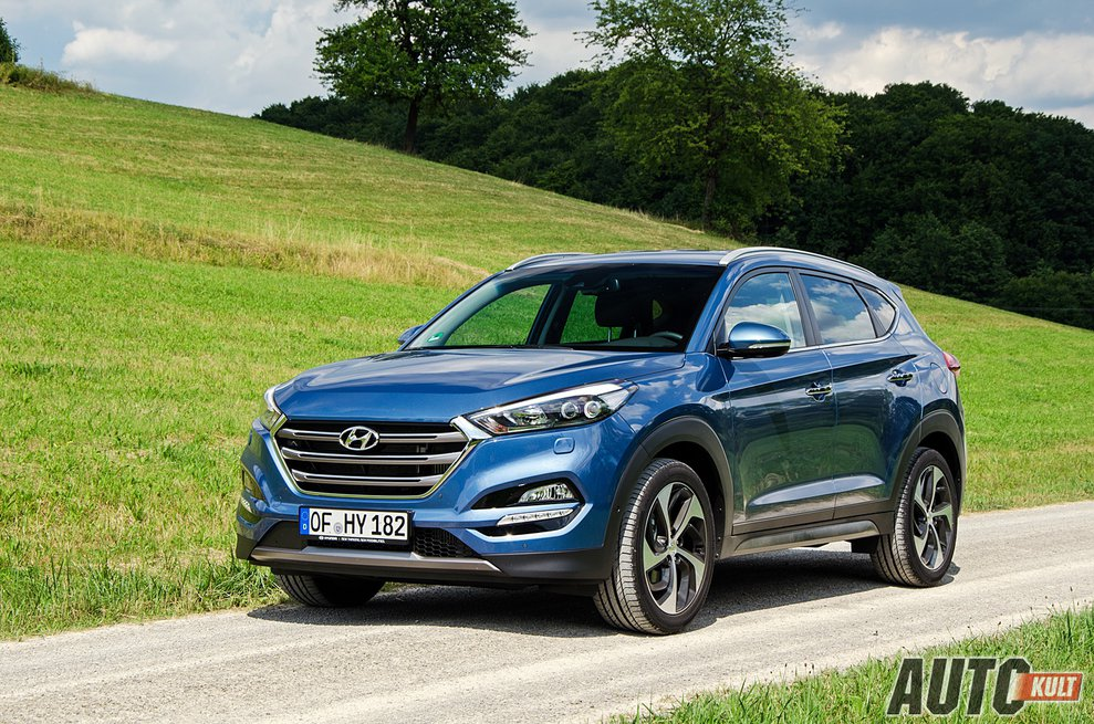 nowy hyundai tucson 2015 2 0 high at test opinia. Black Bedroom Furniture Sets. Home Design Ideas