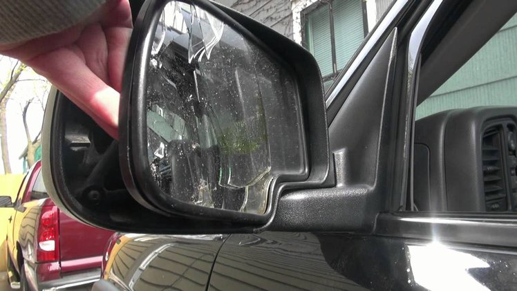 Dimming Glass Crack