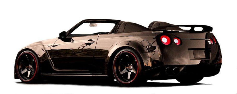 Nissan gt r cabrio pomys newport convertible for Nissan juke cabrio