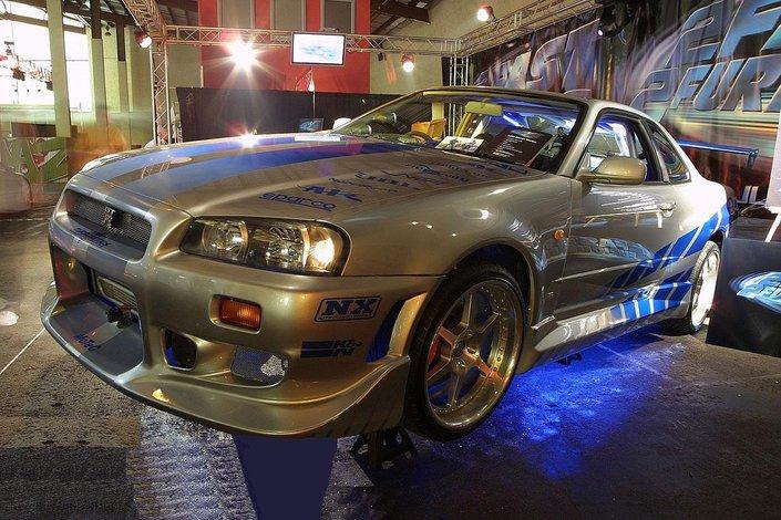Najlepsze Auta Z Szybkich I Wściekłych Nissan Skyline Gt