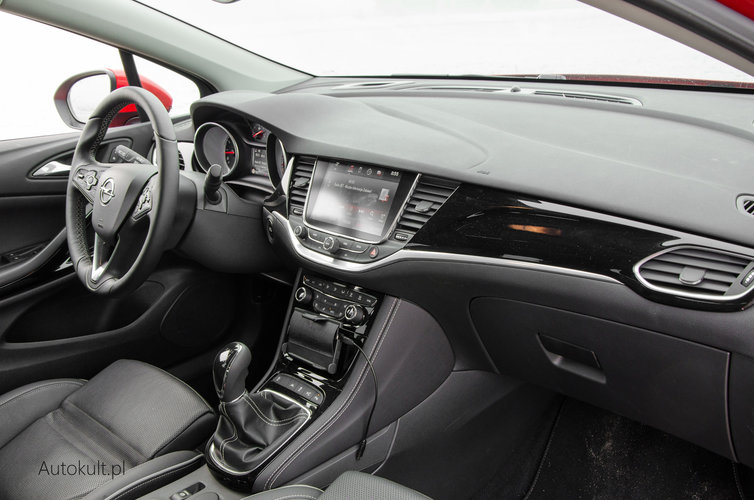 nowy opel astra 2016 1 4 turbo elite test opinia. Black Bedroom Furniture Sets. Home Design Ideas