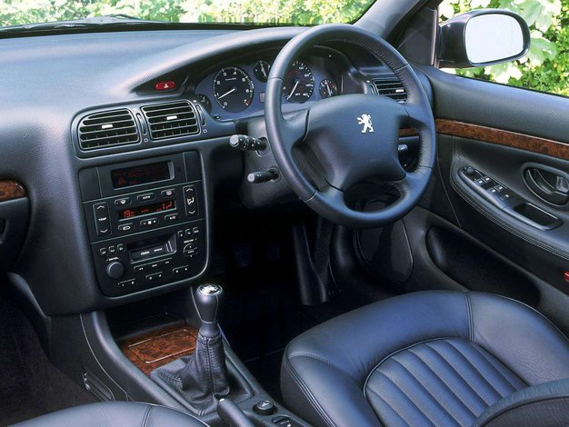 Peugeot 406 awarie i problemy for Interieur 406