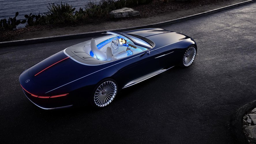 Vision Mercedes Maybach 6 Cabriolet To Powr 243 T Do