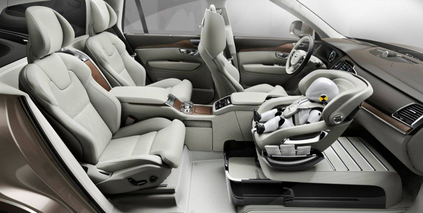 Volvo Excellence Child Seat Concept Rozwiązanie