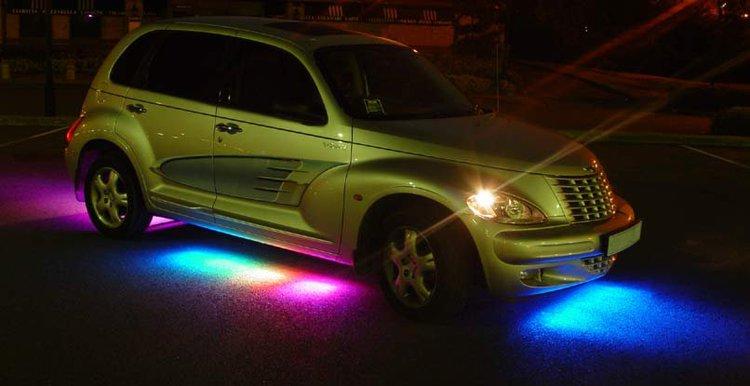 Diody Led W Samochodzie Oświetlenie Autokultpl
