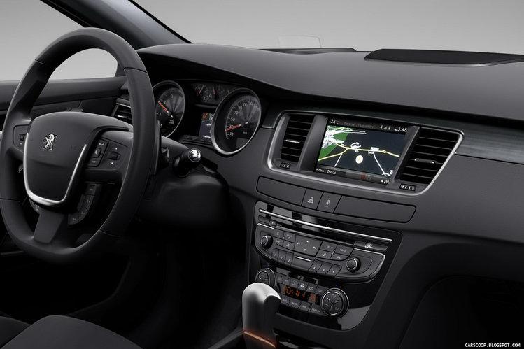 Peugeot 508 oficjalnie oficjalny nowe fakty - Interior peugeot 508 ...