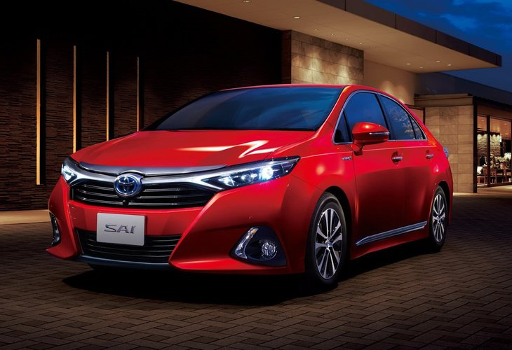 2014 Toyota Sai - japoński luksus | Autokult.pl