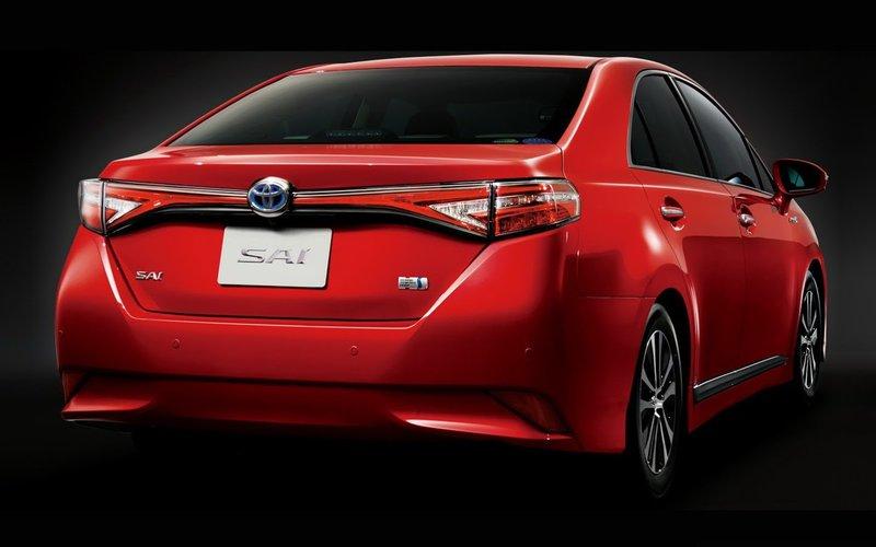 2014 Toyota Sai - japoński luksus   Autokult.pl