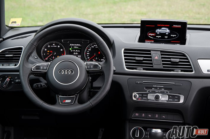 audi q3 sport 2 0 tfsi quattro s line test opinia. Black Bedroom Furniture Sets. Home Design Ideas