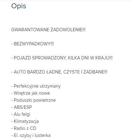 W Ultra Jak sprzedać samochód [cz.2] - przygotowanie ogłoszenia | Autokult.pl ZA45