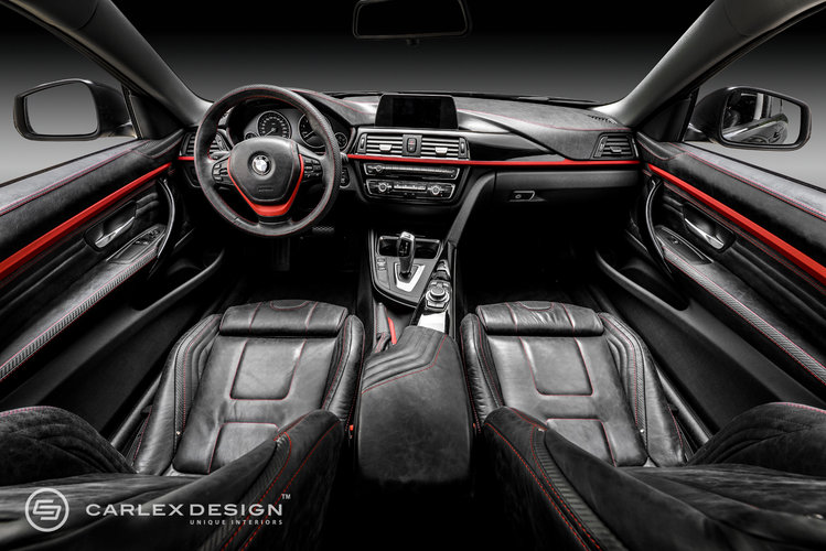 Wnętrze Bmw Serii 4 Od Carlex Design Autokult Pl