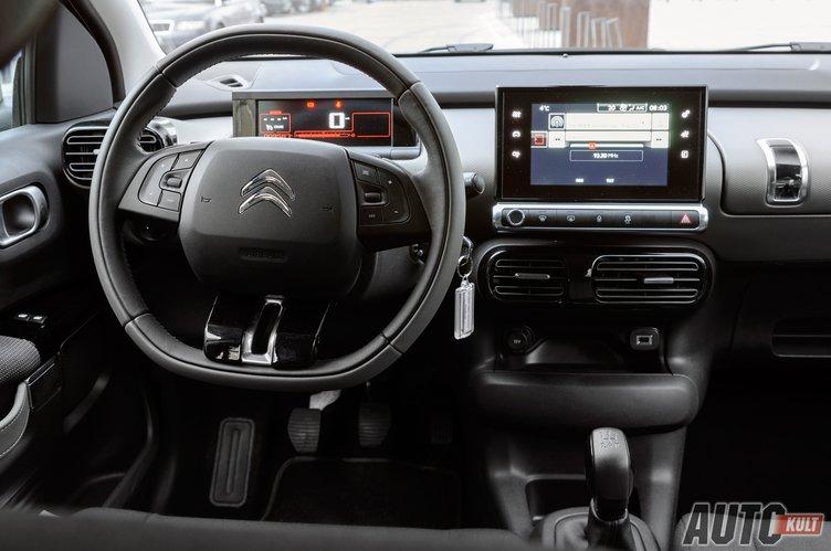 Citroen C4 Cactus >> Citroën C4 Cactus 1.2 PureTech More Life - test, opinia ...
