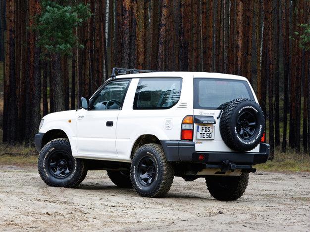 Toyota Land Cruiser Prado J90 - dane techniczne, opinie ...