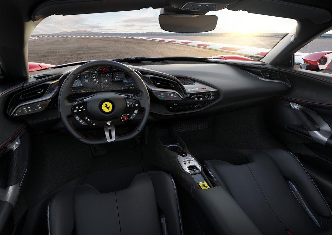 Ferrari SF90 Stradale | wnętrze