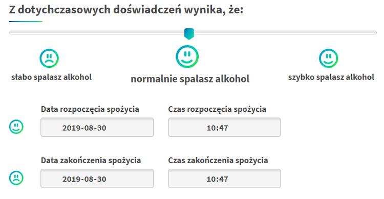 alkohol kalkulator