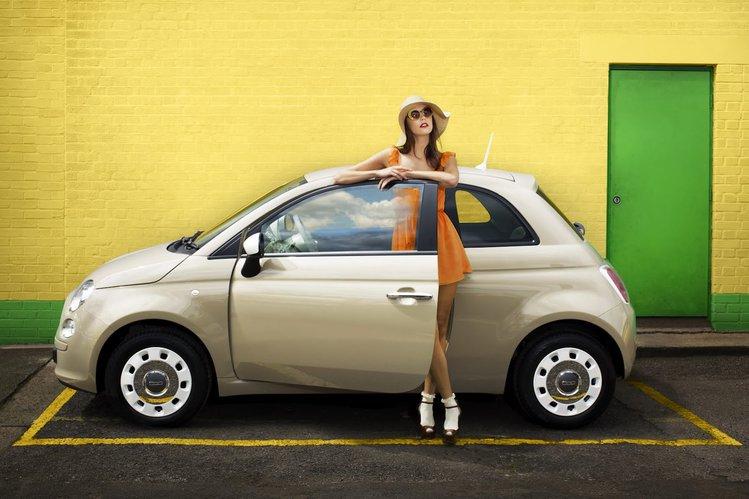Bardzo dobry Fiat 500 Colour Therapy – różowe lata siedemdziesiąte | Autokult.pl VP19