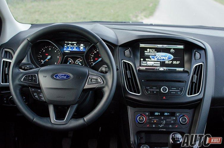 Ford Focus Kombi 1 5 Tdci Titanium Test Opinia