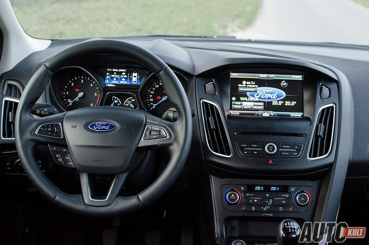 Ford Focus Kombi 1 5 Tdci Anium Test Opinia Spalanie Cena