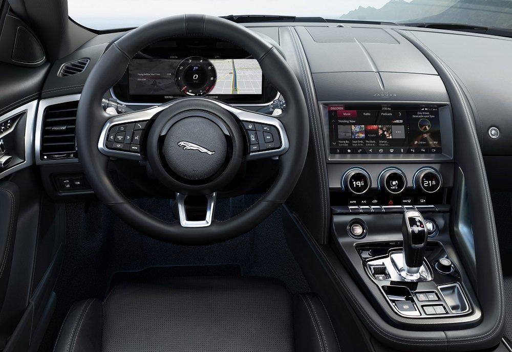 Jaguar F-Type wnętrze