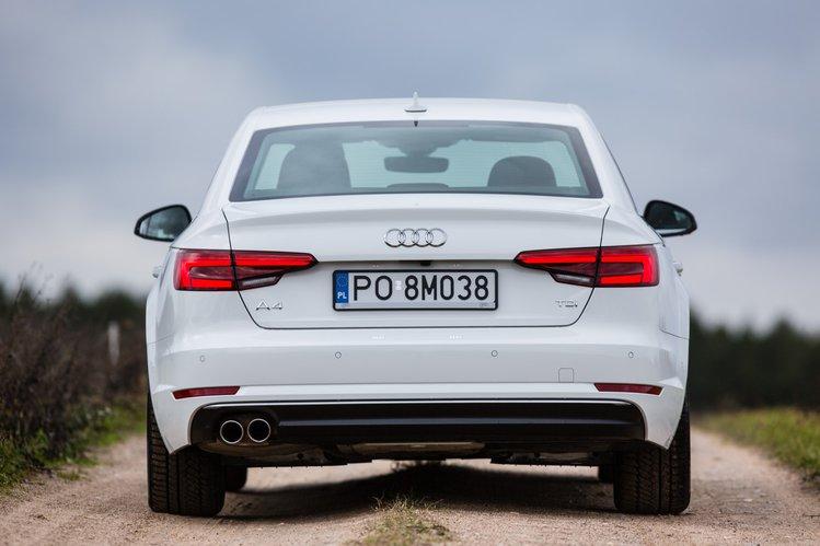 Aktualne Nowe Audi A4 B9 2.0 TDI S-Tronic S-Line - test, opinia, spalanie ZR85