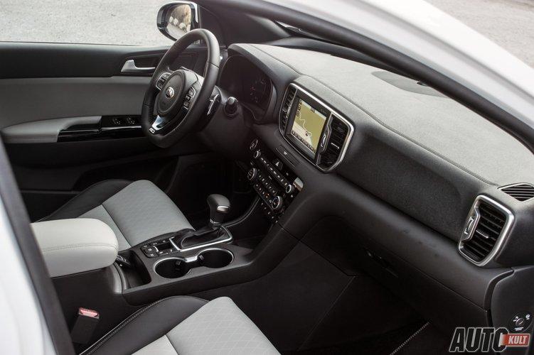 Nowa Kia Sportage 2016 1 6 T Gdi 4x4 Test Opinia