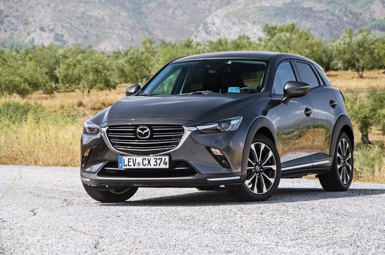 mazda cx 3 2018 test opinia zmiany lifting. Black Bedroom Furniture Sets. Home Design Ideas