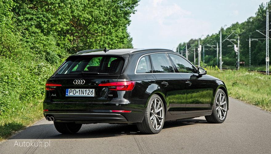 Nowe Audi A4 Avant B9 20 Tdi Test Opinia Spalanie Bagażnik