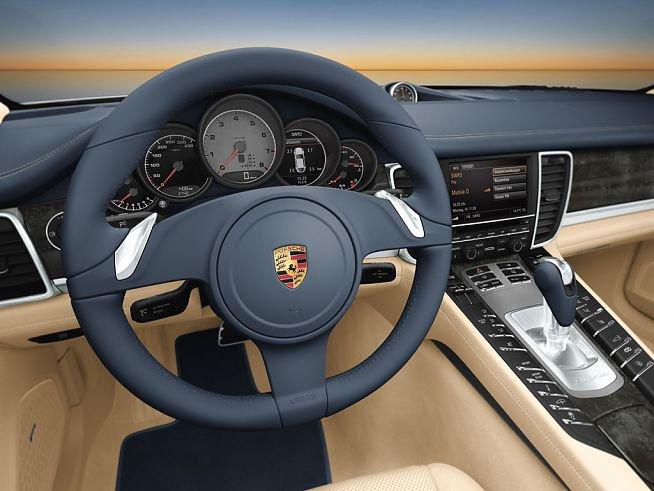 Porsche Panamera Wnętrze Autokult Pl