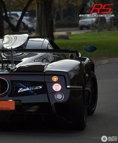 Pagani Zonda 760 Vr Roadster: Edycje Specjalne W Dwóch Słowach: Pagani Zonda [część 1