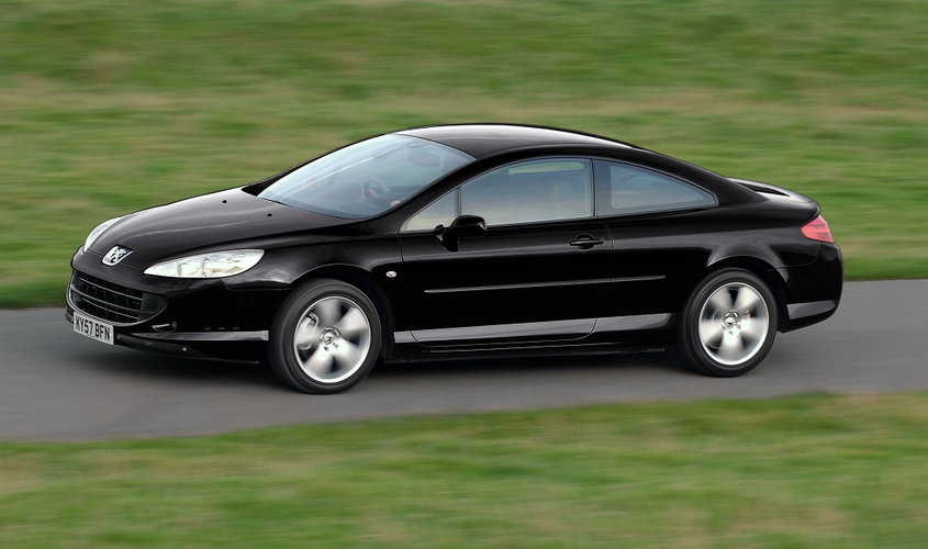 nowy peugeot 407 coupe bellagio. Black Bedroom Furniture Sets. Home Design Ideas