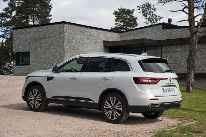 Renault Koleos Dane Techniczne Opinie Ceny Autokult Pl