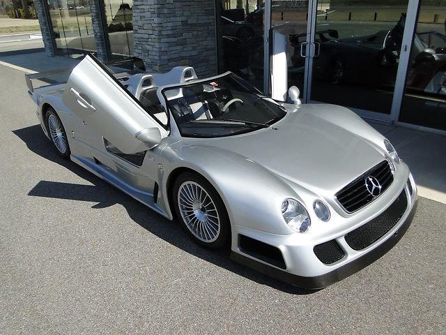 Zjawiskowy Mercedes Clk Gtr Roadster Na Sprzedaz Autokult Pl
