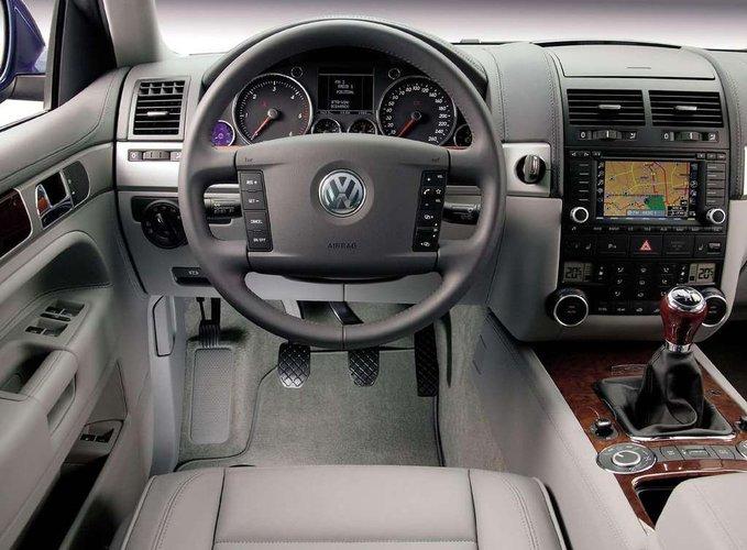 Volkswagen Touareg Wnetr Cb